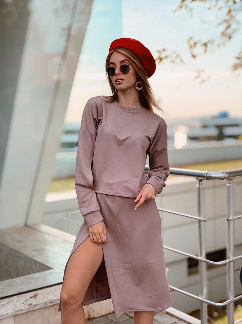 Женский стильный костюм  ОР214