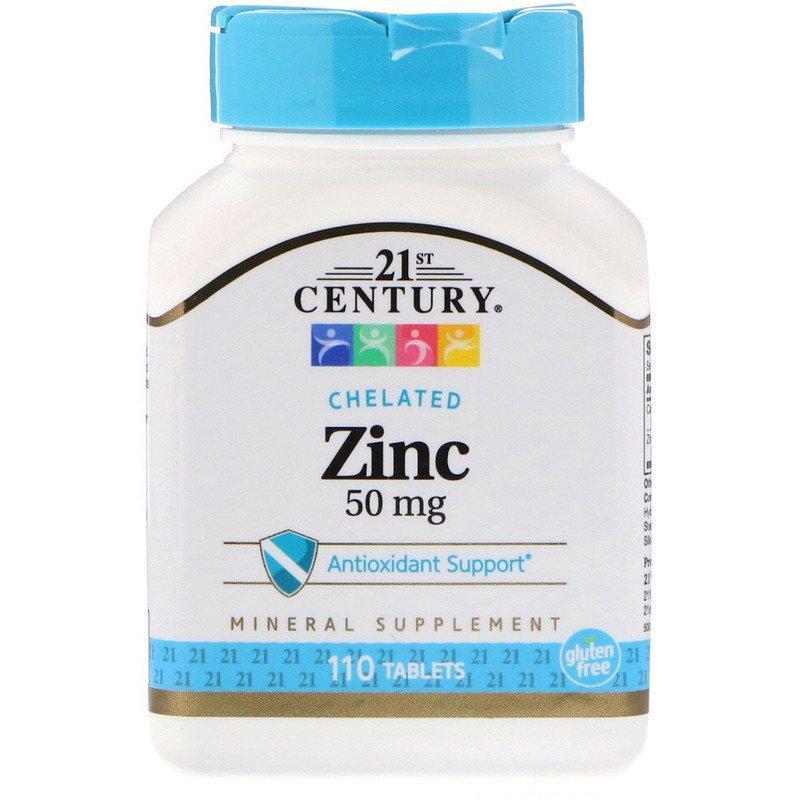 "Цинк 21st Century ""Zinc"" 50 мг (110 таблеток)"