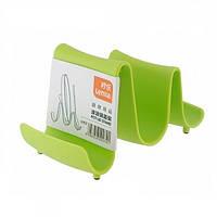Подставка для крышек кострюлей Волна пластиковая 13.5см Stenson (R85839)