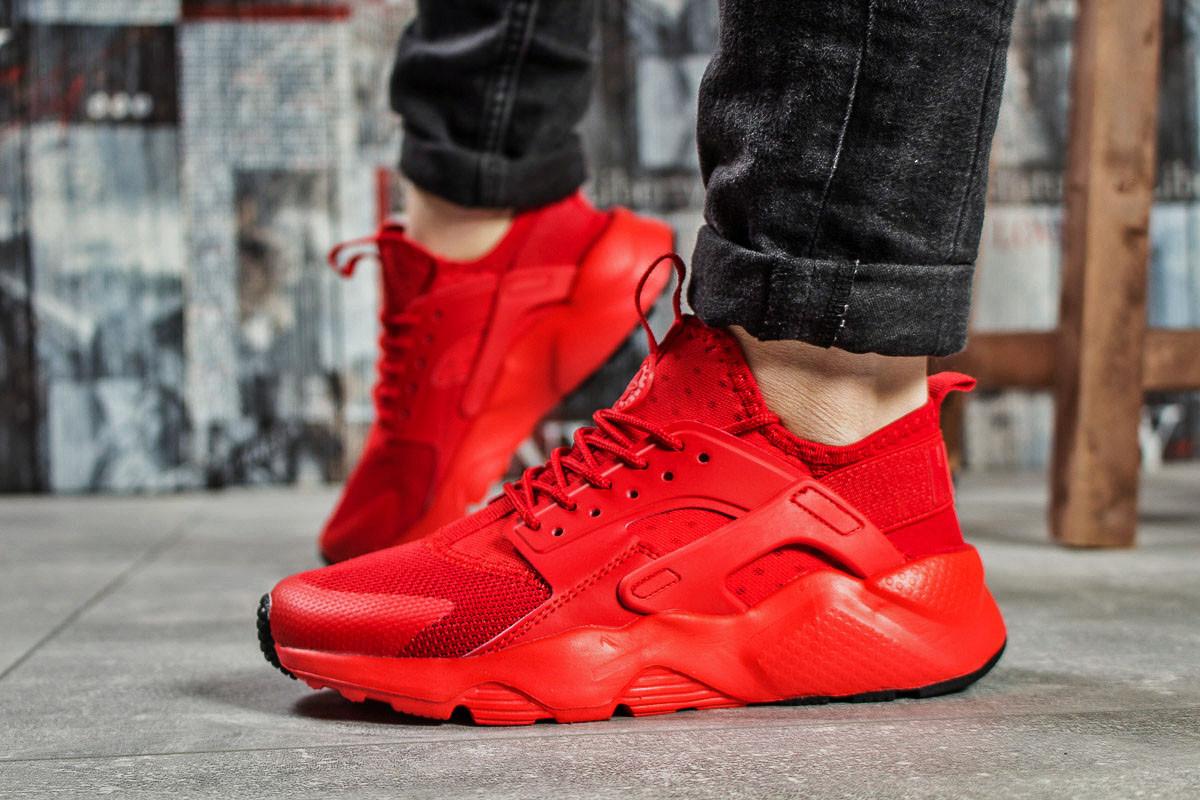 Кроссовки женские Nike Air Huarache, красные (15622) размеры в наличии ►(нет на складе)