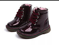 Детские демисезонные ботинки для девочки, ботинки для девочки осень р 24