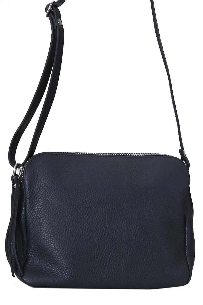 Итальянская сумка FOSCA Diva's Bag цвет темно-синий