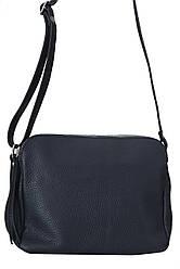 Італійська сумка FOSCA diva's Bag колір темно-синій
