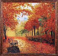 Набор для вышивки бисером Осенний парк МК Б-010