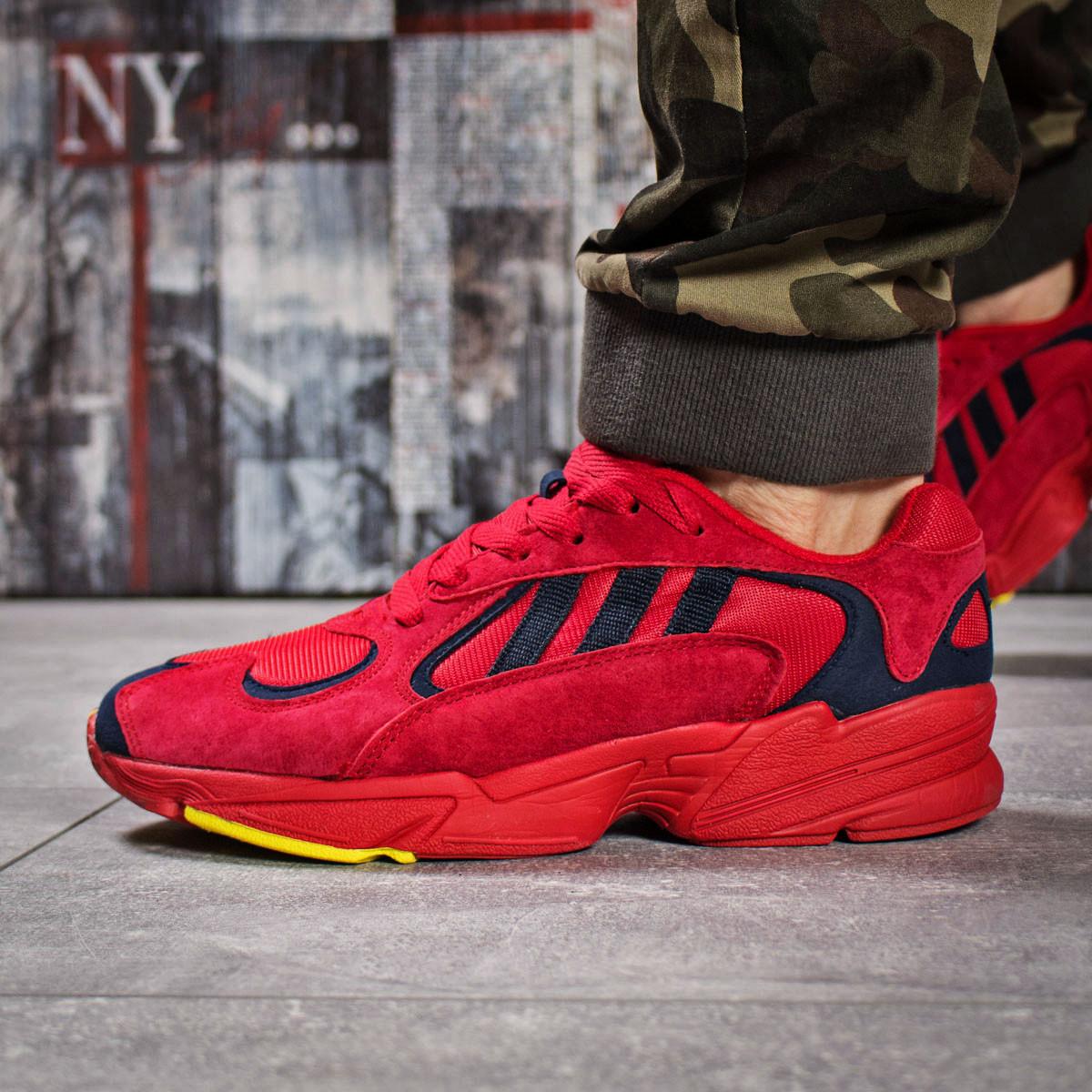 Кроссовки мужские 15936, Adidas Yung 1, красные ( нет в наличии  )