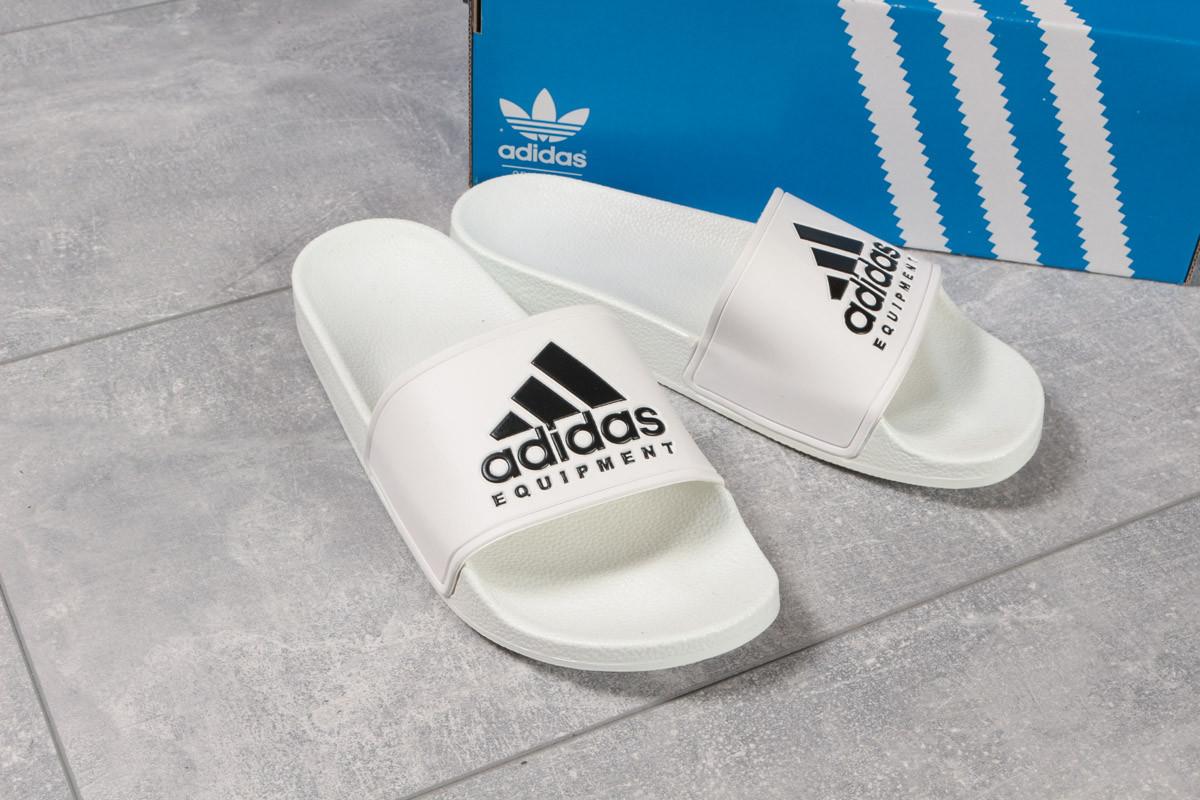 Шлепанцы мужские 16291, Adidas, белые ( нет в наличии  )