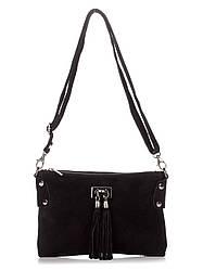 Жіноча шкіряна сумка TIANNA diva's Bag колір чорний