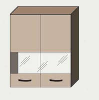 Навесной Шкаф 60В витрина  Алина