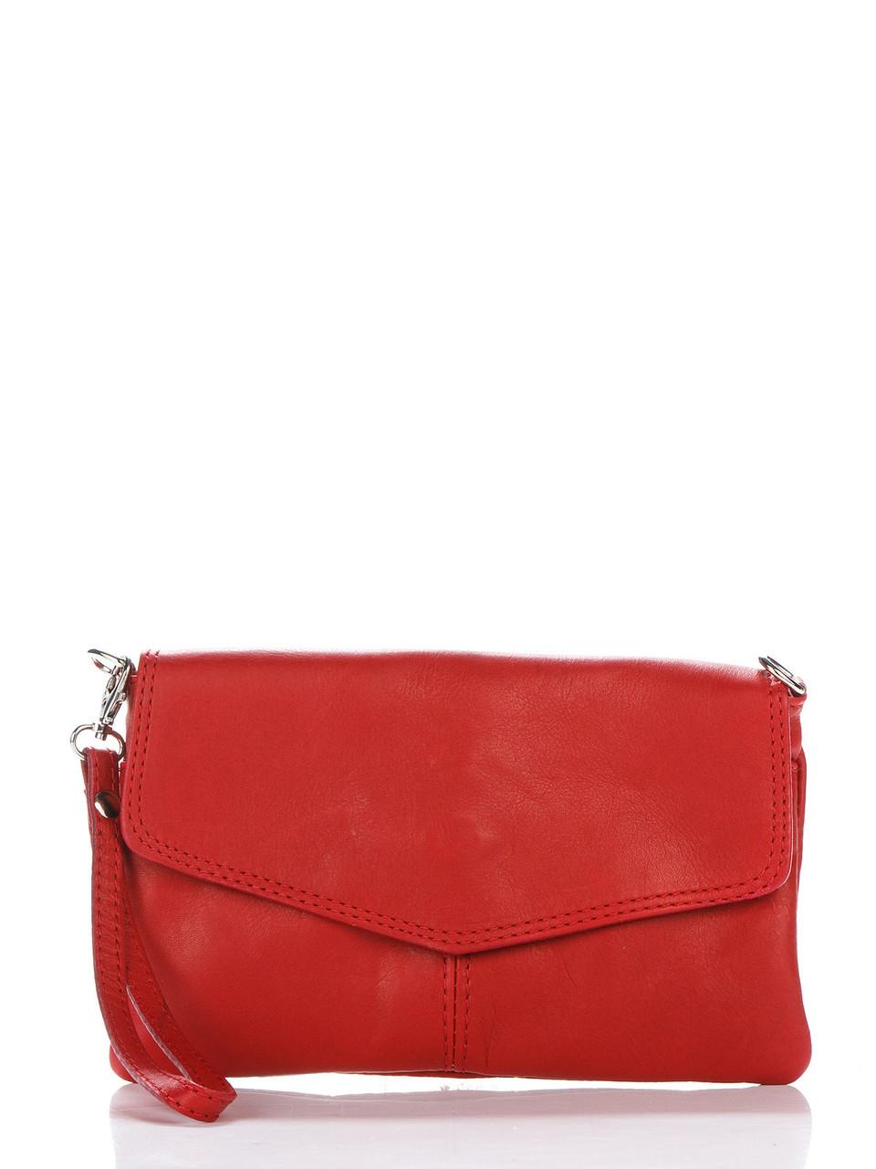 Итальянская сумка DIANA Diva's Bag цвет красный