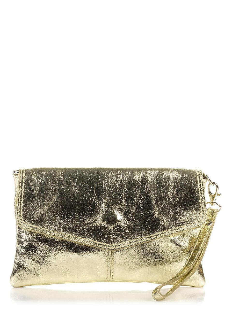 Итальянская сумка DIANA Diva's Bag цвет золотой
