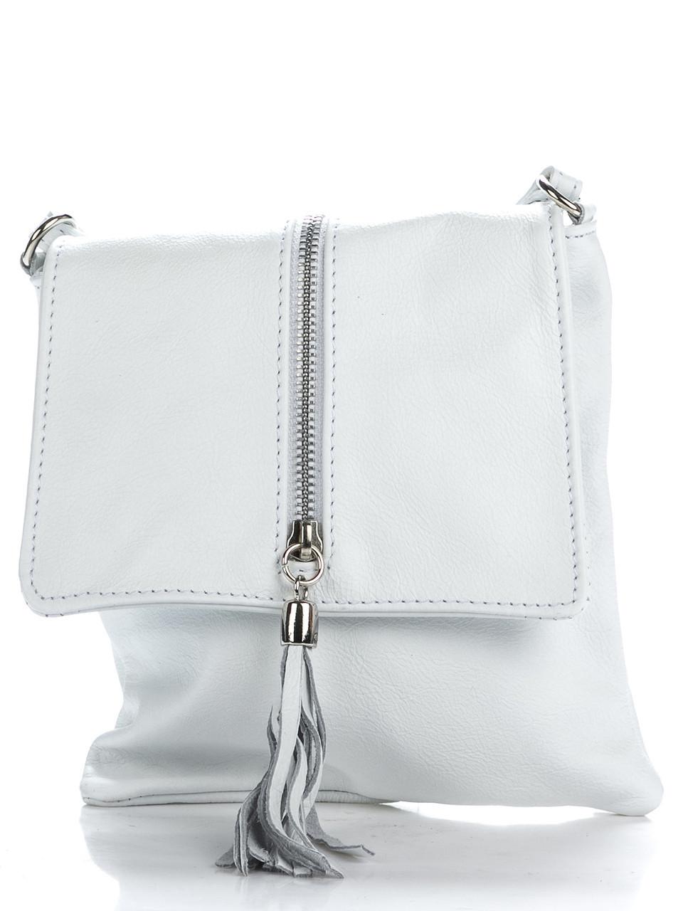 Кожаная сумка SAMIRA Diva's Bag белая