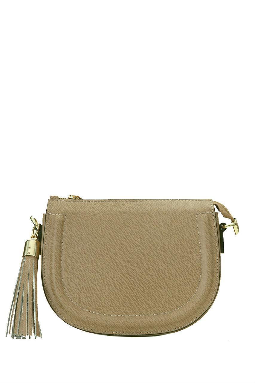 Компактная женская сумка TELICA Diva's Bag цвет светло-коричневый