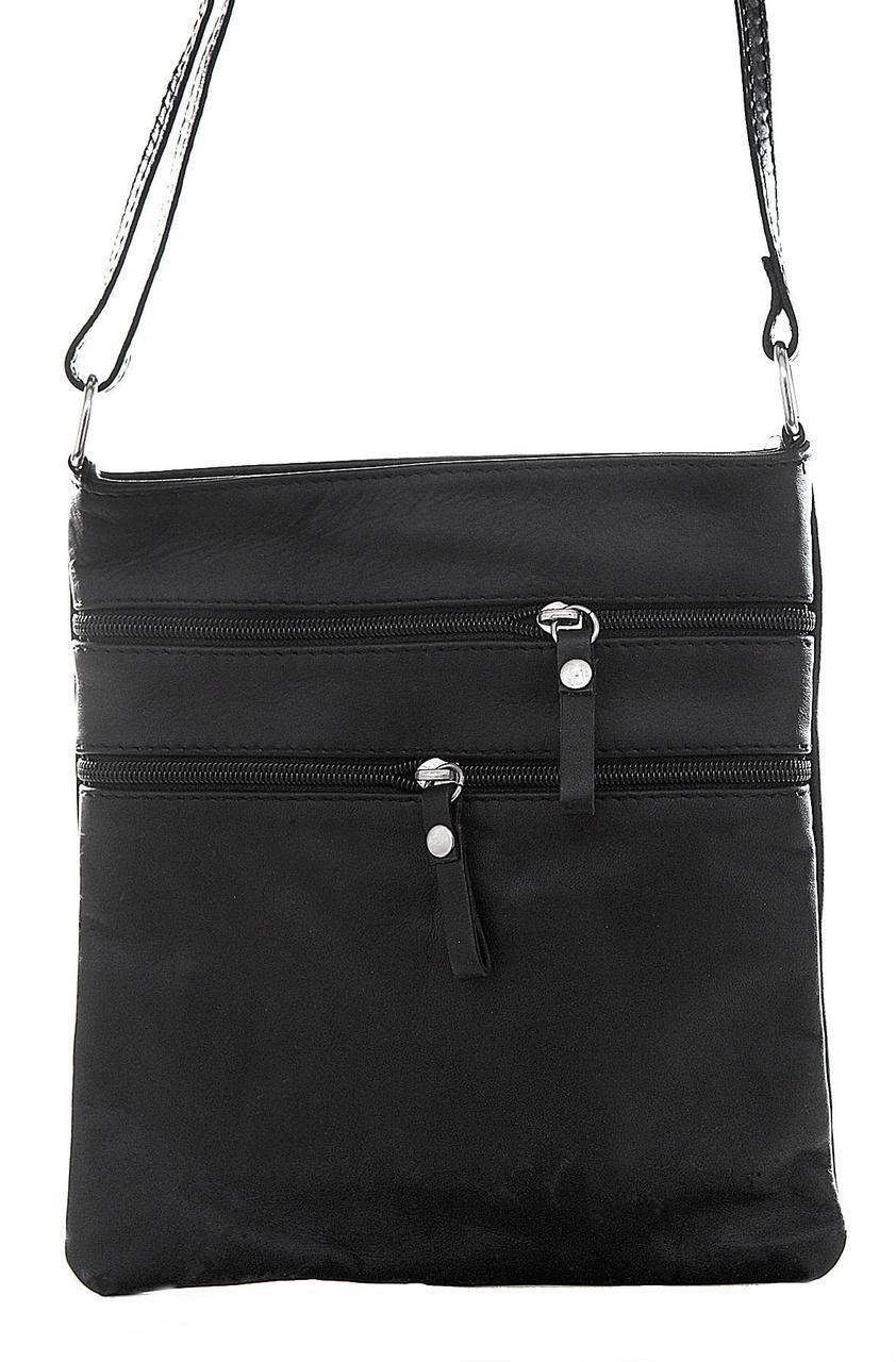 Жіноча шкіряна сумочка TAMARA diva's Bag колір чорний