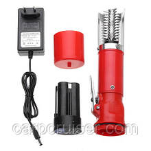 Електрична Чистилка риби скалер для чищення риби від лушпиння-луски на акумуляторної батареї