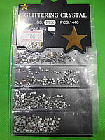 Камни Сваровски ( стекло)  серебро