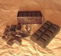 """Подарочное мыло ручной работы """"Плитка шоколада"""""""