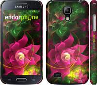 """Чехол на Samsung Galaxy S4 mini Duos GT i9192 Абстрактные цветы 2 """"818c-63"""""""
