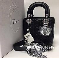 Женская сумка чёрная D**i*o*r