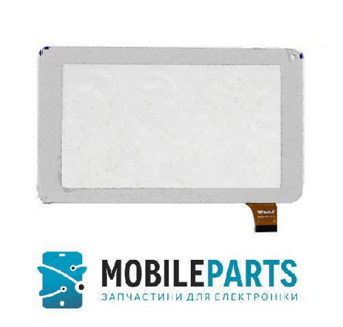 Сенсор (Тачскрин) для планшета Prestigio MultiPad PMT3027 (186*111мм) (Белый) Оригинал Китай