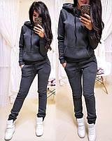 Спортивный костюм женский теплый норм и батал, фото 1