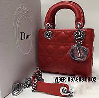 Женская сумка красная D**i*o*r