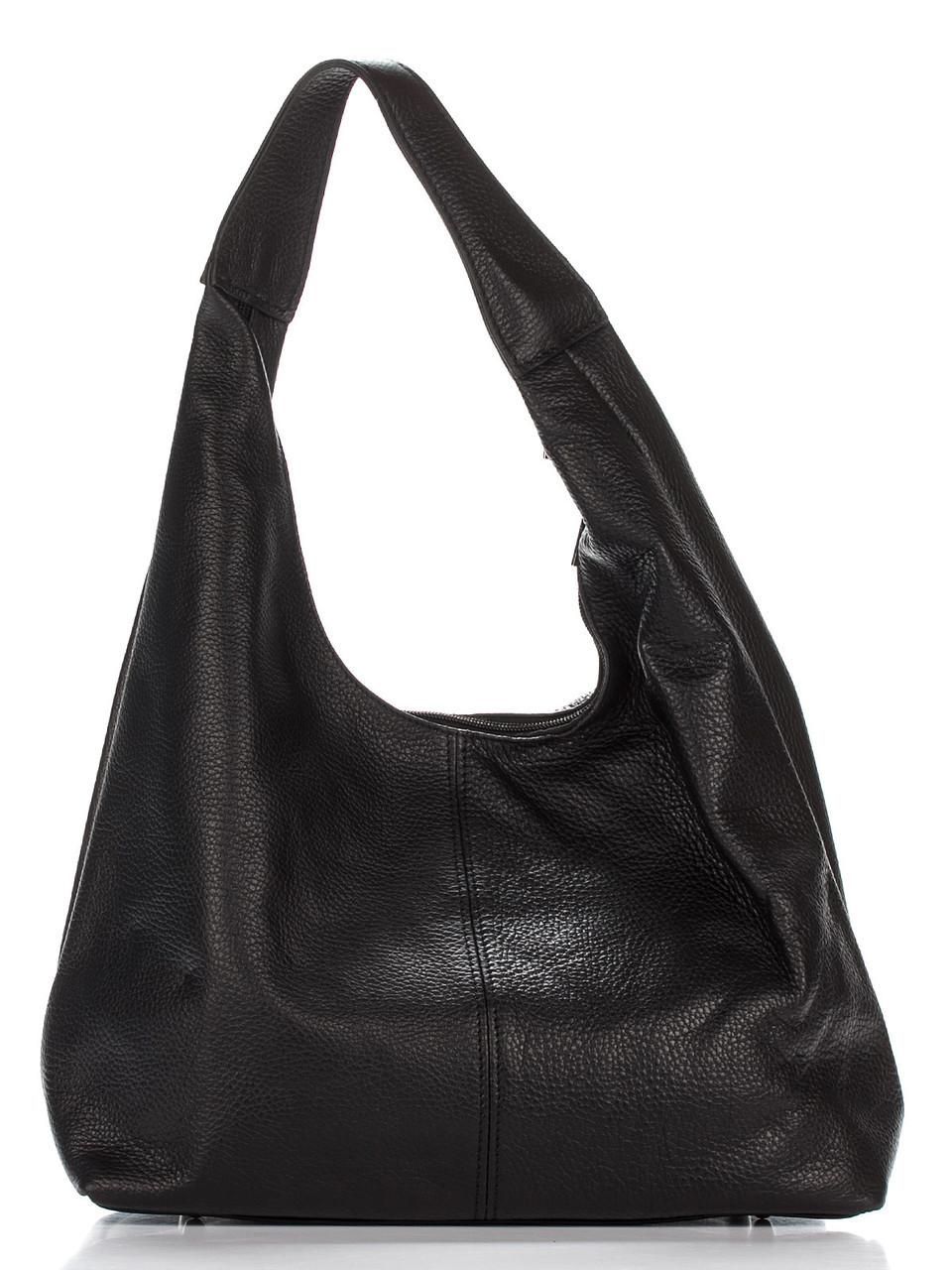 Сумка хобо SONDRA бренда Diva's Bag черного цвета 32 см х 24 см х 14 см
