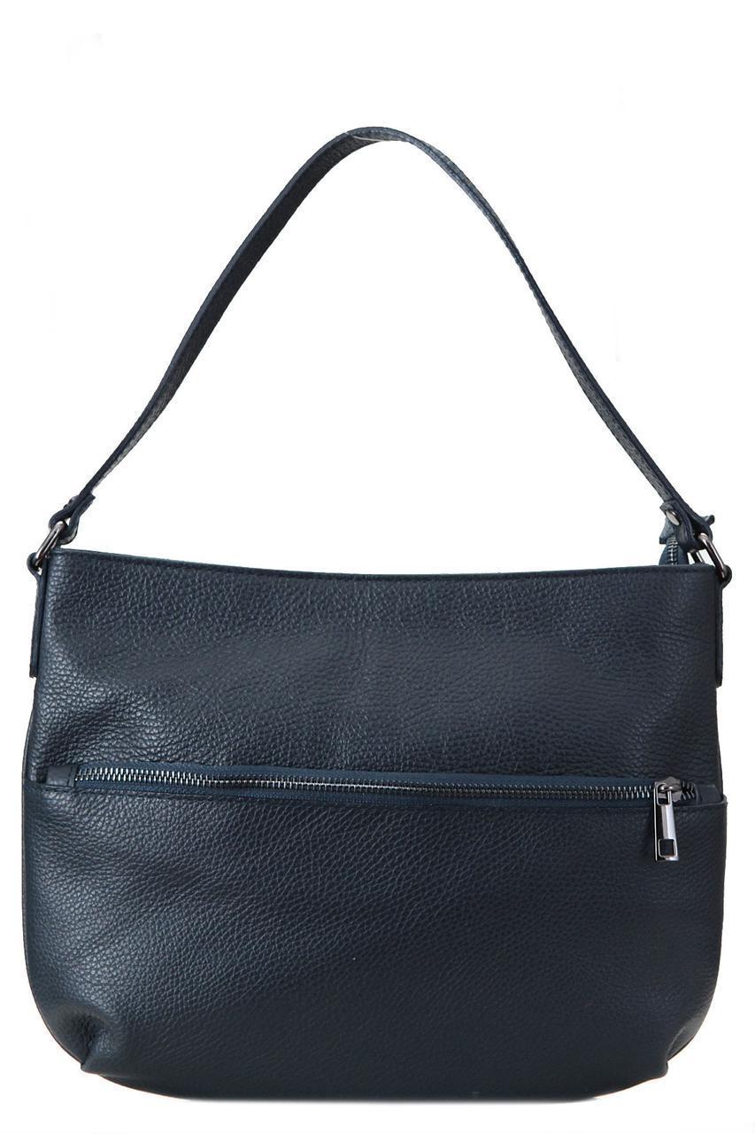 Женская кожаная сумка для всего SIDONIA Diva's Bag цвет темно-синий