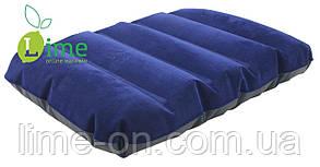 Подушка надувная Velour 43х28х9см