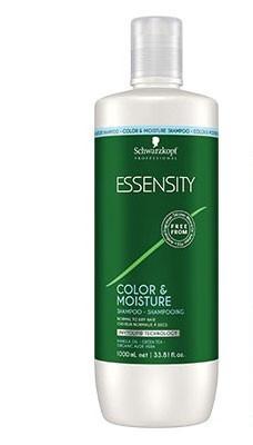 Увлажняющий шампунь без сульфатов Schwarzkopf Professional Essensity Color & Moisture Shampoo 1000 мл