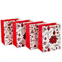 """Подарочные пакеты """"Волшебство"""" (23*10*18) плотный картон"""