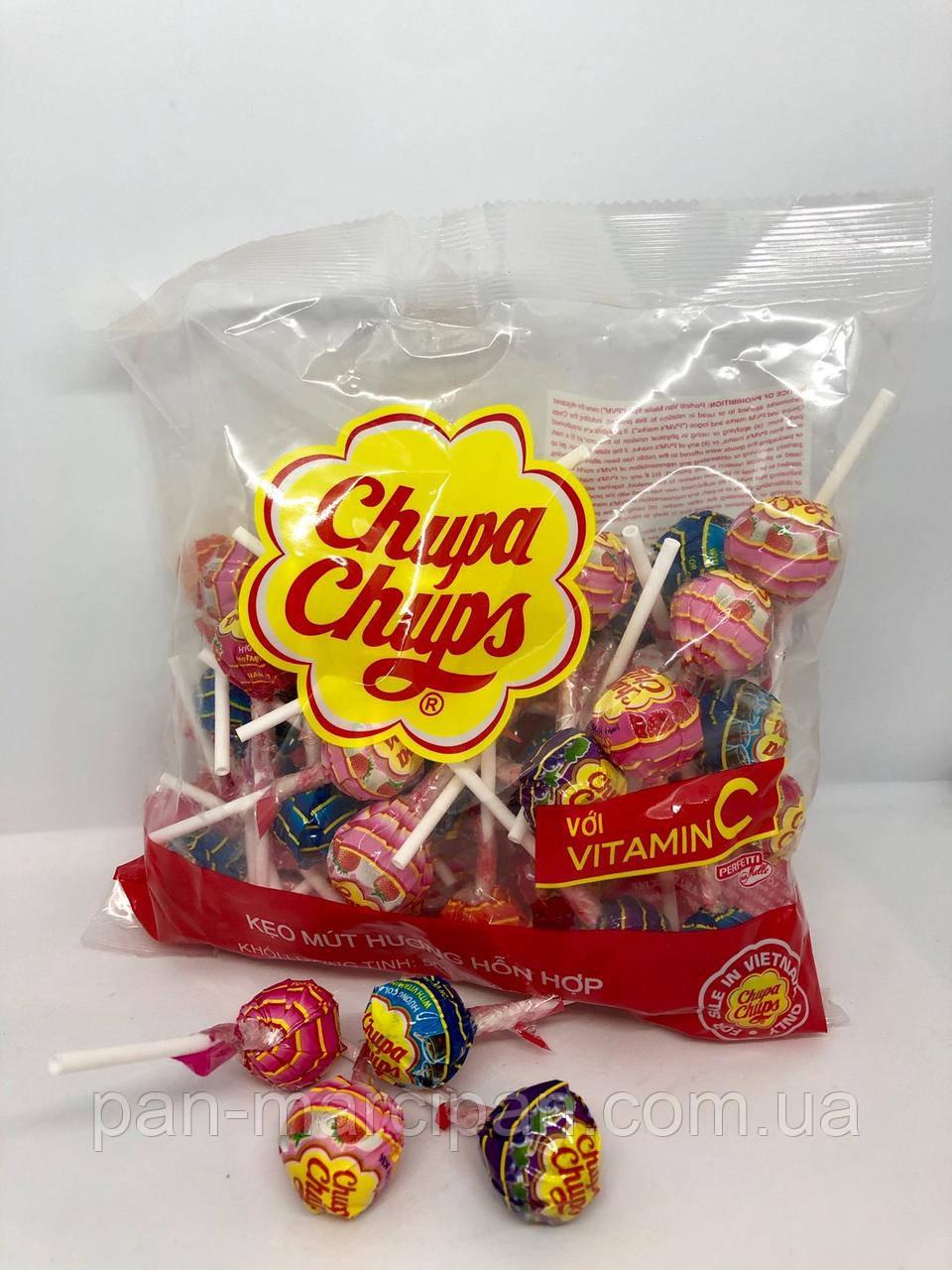 Цукерка на палочці Chupa Chups 12г