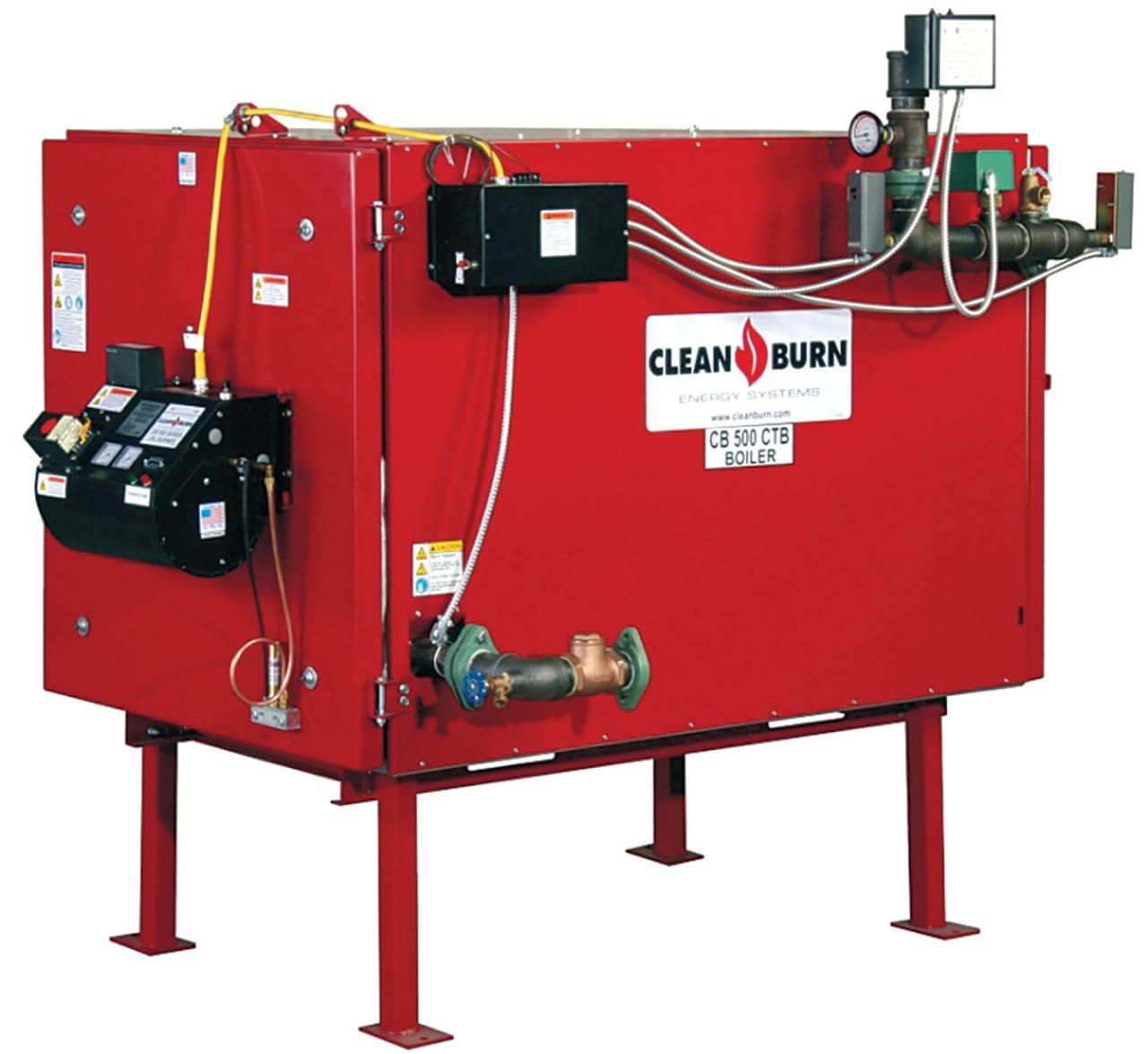 Котел на відпрацювання Clean Burn CB-200 (58 кВт)