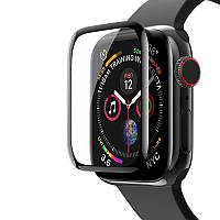 Защитное стекло 5D (Full Glue) Apple Watch 44mm (Series 4/5)