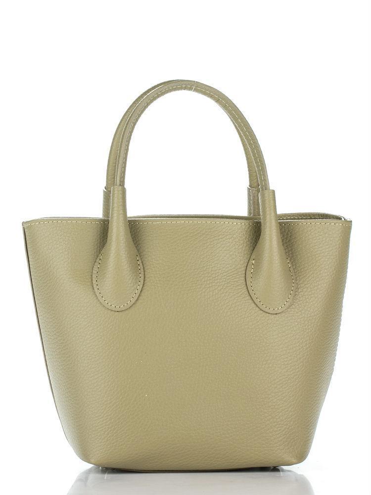 MOLLY темно-бежевая женская кожаная сумка тоут Divas Bag