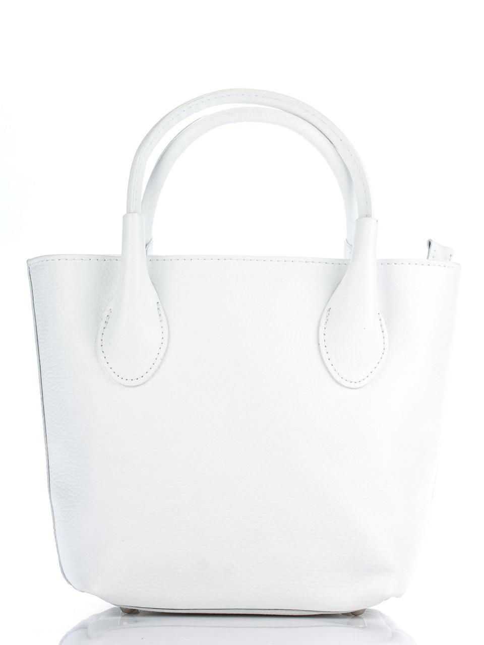 Женская сумка MOLLY кожаная Diva's Bag цвет белый