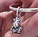 Серебряная подвеска  Единорог Бруно из панк – группы , фото 2