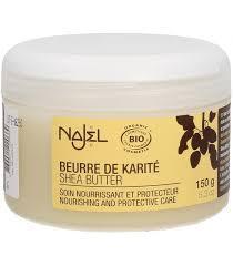 Масло карите с ароматом ванили 150г Najel