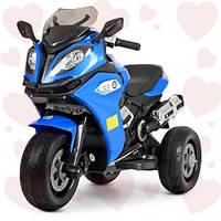 Электромобиль Мотоцикл M 3913EL-4 BMW, Синий, 2мотор35W, 2аккум6V4,5AH, MP3