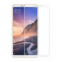 Скло 5D Xiaomi Mi Max 3 Біле