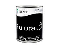 Грунт алкидный TEKNOS FUTURA 3 адгезионный белый (база 1) 0,9л