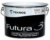 Грунт алкидный TEKNOS FUTURA 3 адгезионный белый (база 1) 9л