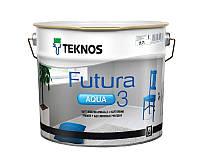 Грунт алкидный TEKNOS FUTURA AQUA 3 водоразбавляемый белый (база 1) 2,7л