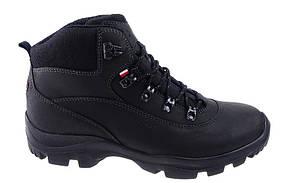 Теплые треккинговые мужские ботинки из натуральной кожи Wojas , р.40-45