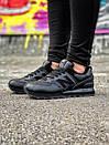 Зимние кожаные кроссовки New Balance 574, фото 10