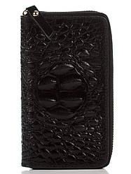 Женский кожаный кошелек PINA Diva's Bag цвет черный