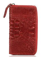 Женский кожаный кошелек PINA Diva's Bag цвет бордовый