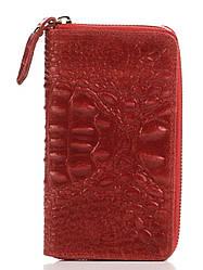 PINA бордовий жіночий шкіряний гаманець Divas Bag