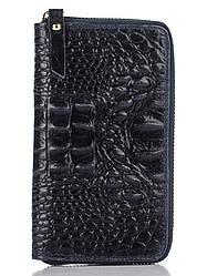 Женский кожаный кошелек PINA Diva's Bag цвет темно-синий