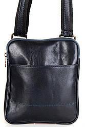 Чоловіча шкіряна сумкаPAOLO diva's Bag колір синій