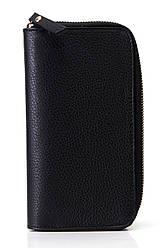 Жіночий шкіряний гаманець OLINDA diva's Bag колір чорний